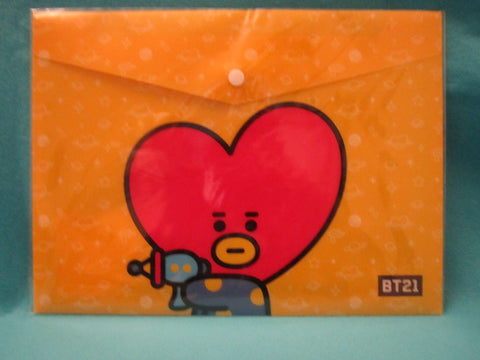 Kpop - BTS BT21 PPFilePocket Yellow