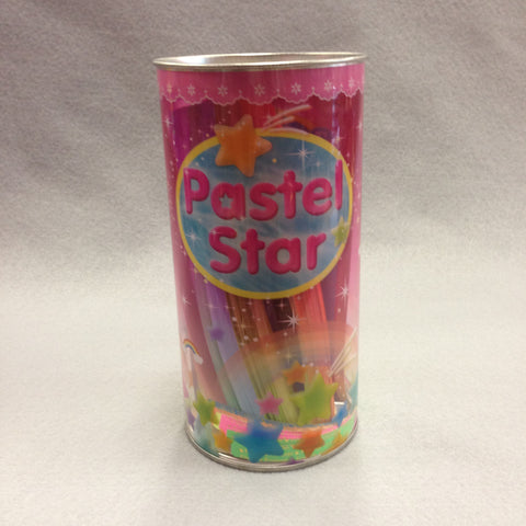 Pastel Star Paper Tube (large)