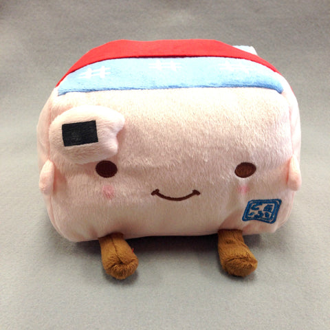 Tofu Plush (Pink Rice Ball)