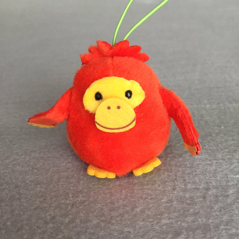 Mini Orangutan Plush Keychain