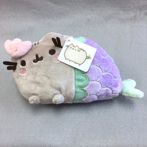 "Pusheen Plush -  7"" Mermaid (Calm Shell)"
