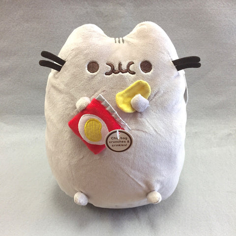 "Pusheen Plush - 10"" (Chips)"