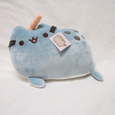"Pusheen Plush - 13"" (Narwhal)"