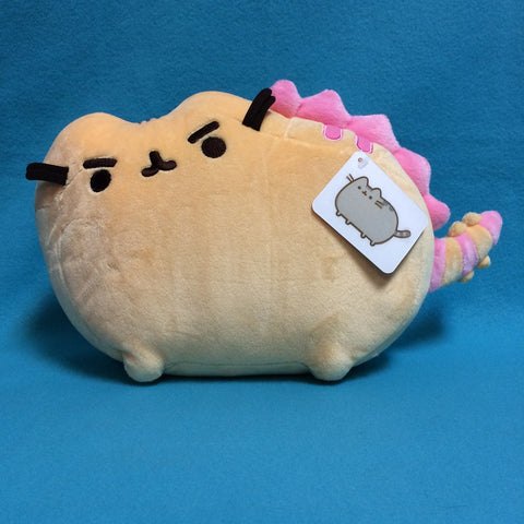 "Pusheen Plush - 13"" (Pusheenosaurus, Strawberry)"