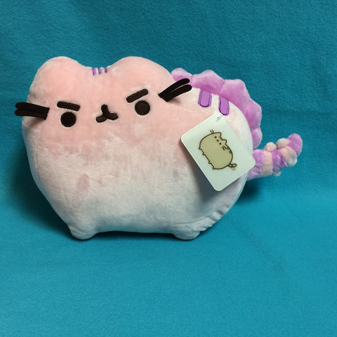 "Pusheen Plush - 13"" (Pusheenosaurus, Cotton Candy)"