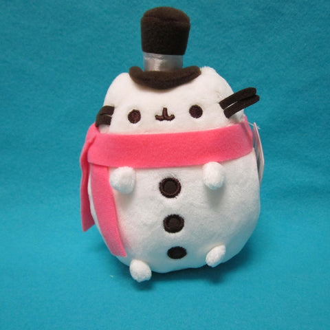 "Pusheen Christmas Plush 6"" (Snowman)"