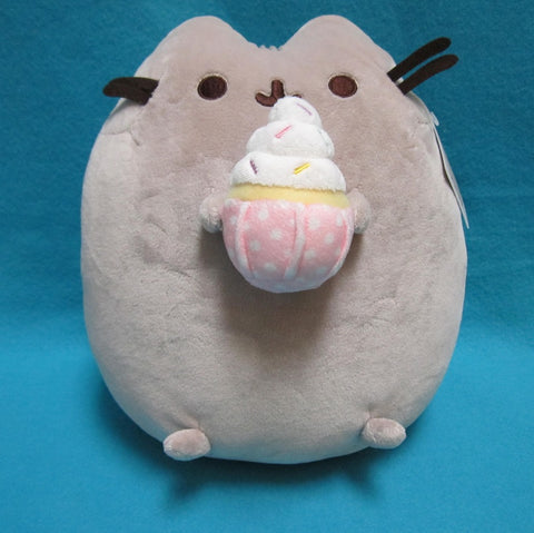 "Pusheen Plush -  9.5"" (Sprinkle Cupcake)"