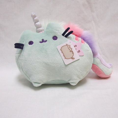 "Pusheenicorn Sound Toy, 7.5"" (Green)"