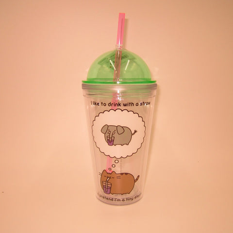 Pusheen 16oz tumbler