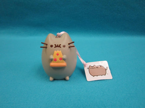 Pusheen Christmas Ornament - Pizza