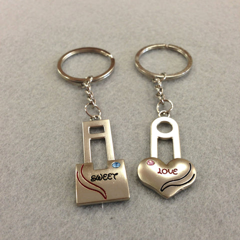 Sweet Love Couples Keychain