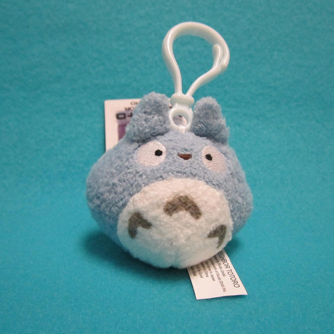 Totoro Plush - Blue Backpack Clip