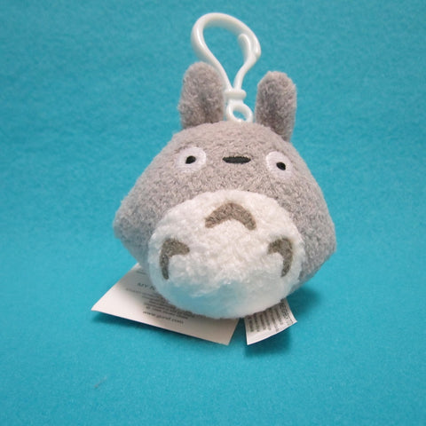 Totoro Plush - Grey Backpack Clip