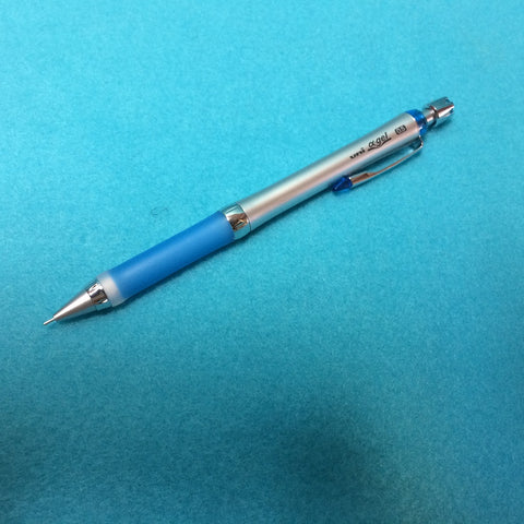 Alpha-Gel Slim Mechanical Pencil - Blue