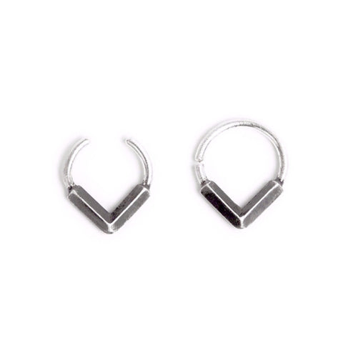 black SEPTUM RING by ADI LEV design