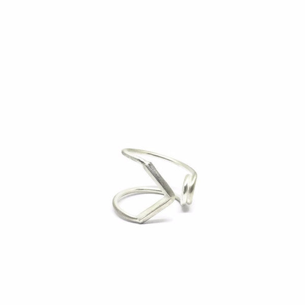 SAFETY PIN OPEN RING