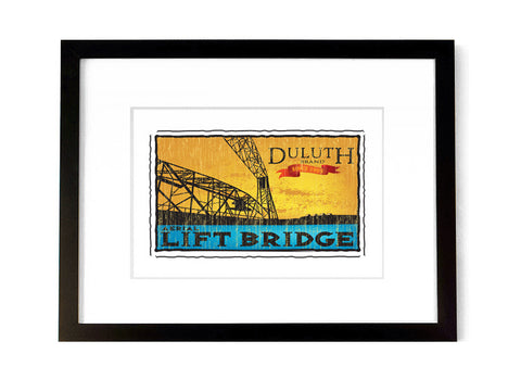 Aerial Lift Bridge - <br>Duluth, Minnesota