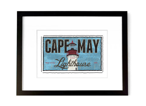 Cape May Lighthouse - <br>New Jersey, USA