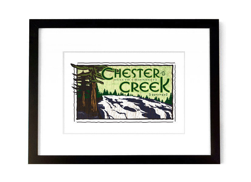 Chester Creek - <br>Duluth, Minnesota