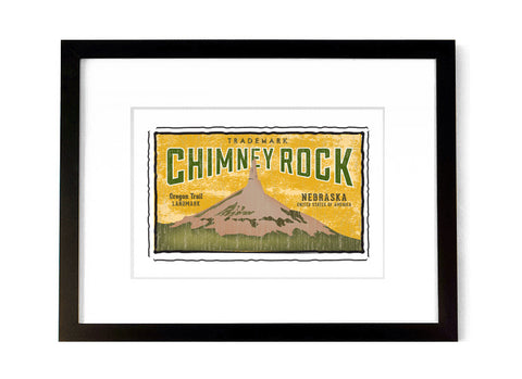 Chimney Rock <br>Nebraska, USA