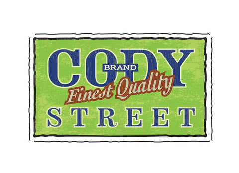 cody street fruit crate label