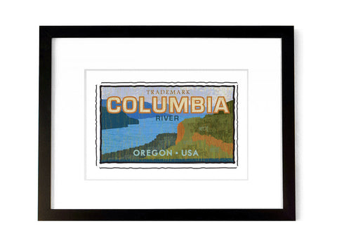 Columbia River - <br>Oregon, USA
