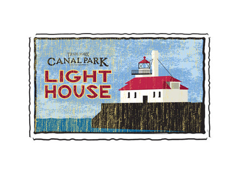 Canal Park lightouse fruit crate label