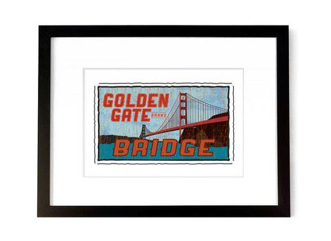 Golden Gate Bridge - <br>California, USA