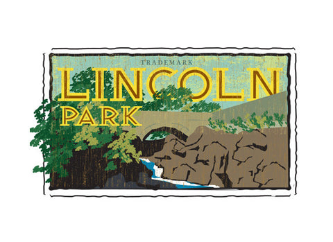 lincoln park fruit crate label
