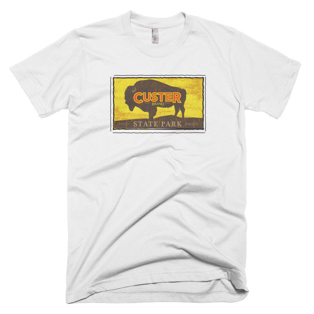 Custer State Park, South Dakota short sleeve men's t-shirt