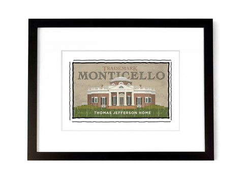 Monticello - <br>Virginia, USA