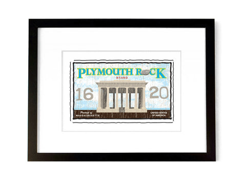 Plymouth Rock - <br>Massachusetts, USA