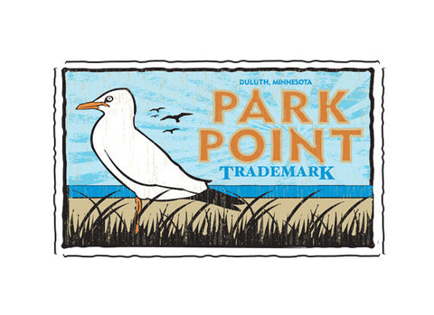 park point fruit crate label