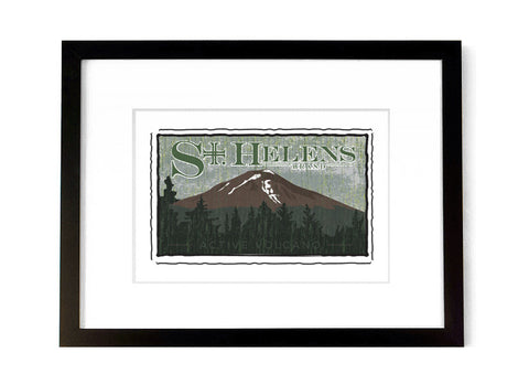 Mount St. Helen's- <br>Washington, USA