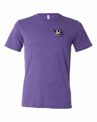THE PENGUIN PROJECT OF THE SAUK VALLEY t-shirt fundraiser - PURPLE - ADULT SIZES