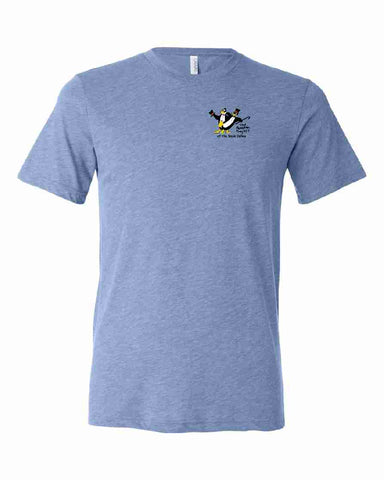 THE PENGUIN PROJECT OF THE SAUK VALLEY t-shirt fundraiser - BLUE - YOUTH SIZES