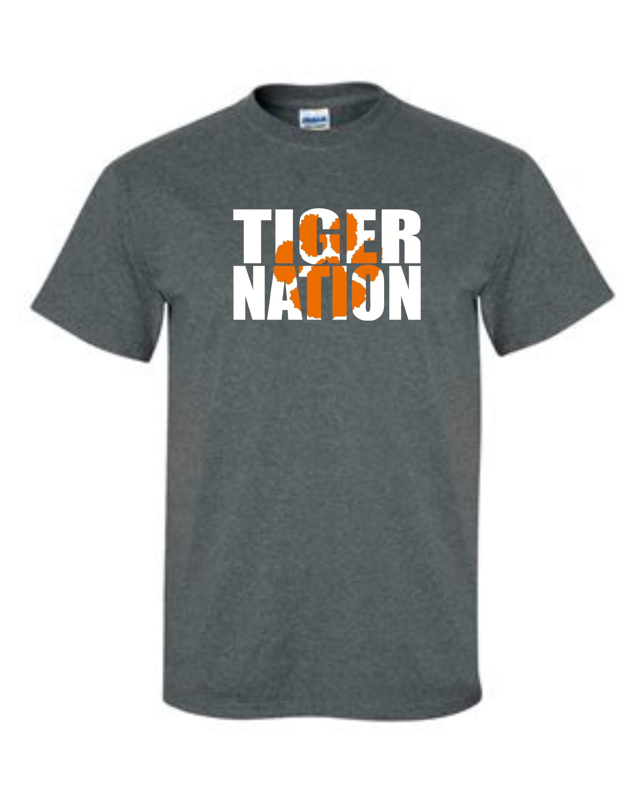 TIGER NATION - TIGER PAW DESIGN