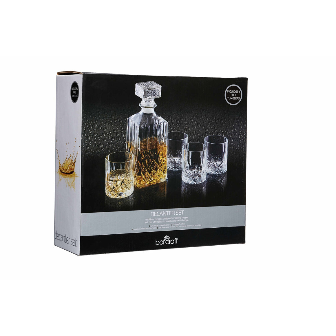 Set decanter si pahare Bar Craft