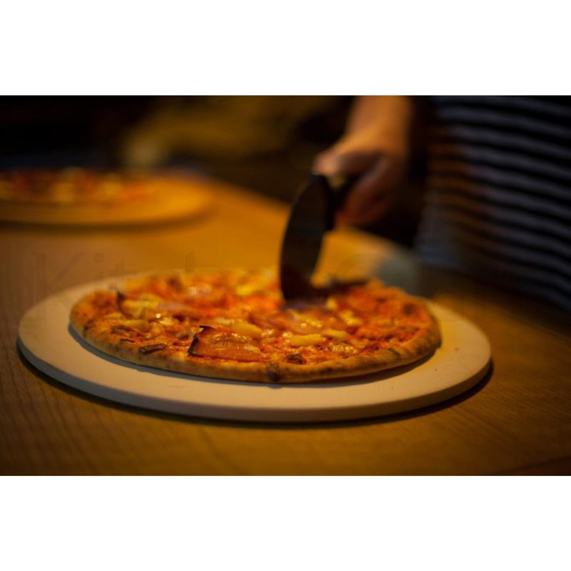Set pentru copt si servit pizza World of Flavours