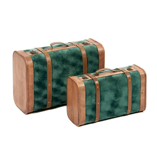 Valiza mica Suitcase Box Green