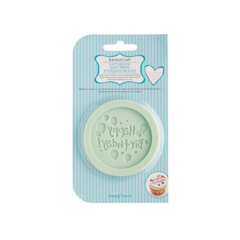 Forma silicon pentru decorat Happy Birthday