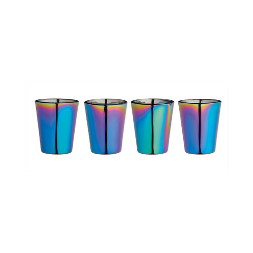 Set 4 pahare Shot Glass Rainbow