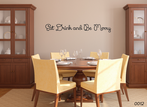 Eat Drink Be Merry Wall Decor 0012