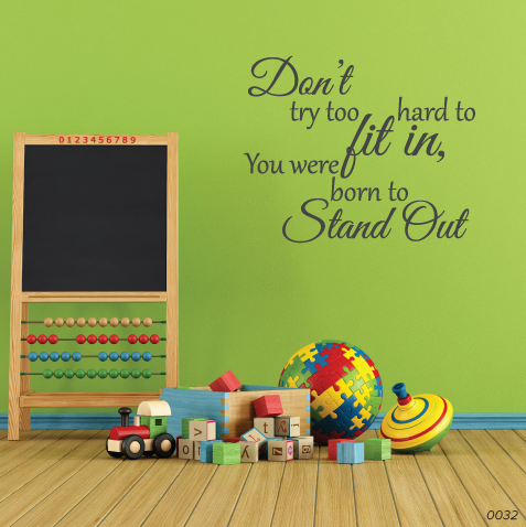 Fit In Stand Out Wall Decor 0032