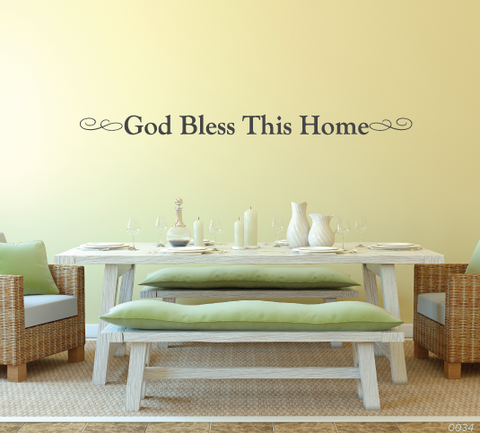 God Bless This Home Wall Decor 0034