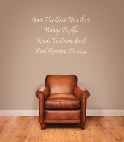 Give The Ones You Love Wall Sticker 0003