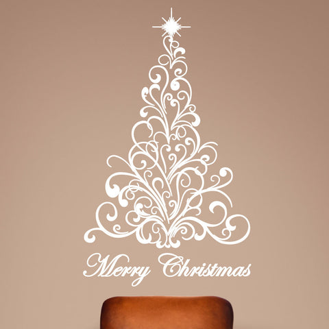 Christmas Tree Decals 0040