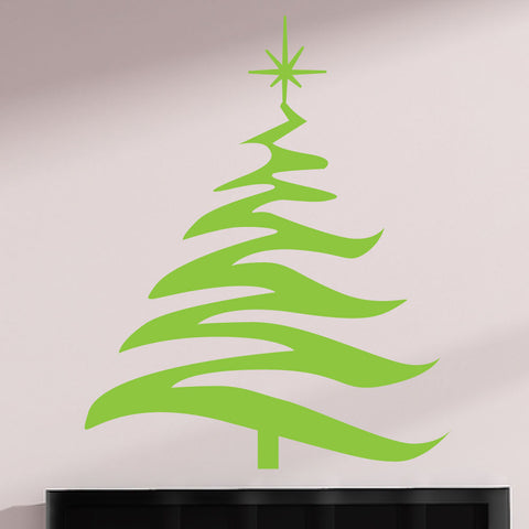 Christmas Tree Decals 0041
