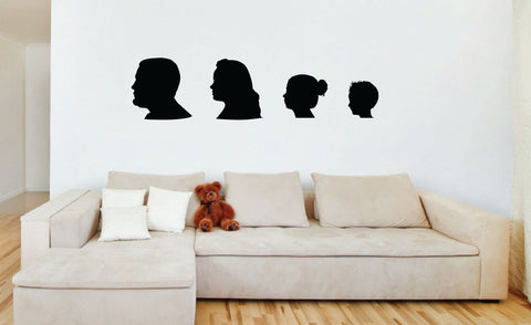 Custom Silhouette Wall Decals - 0001