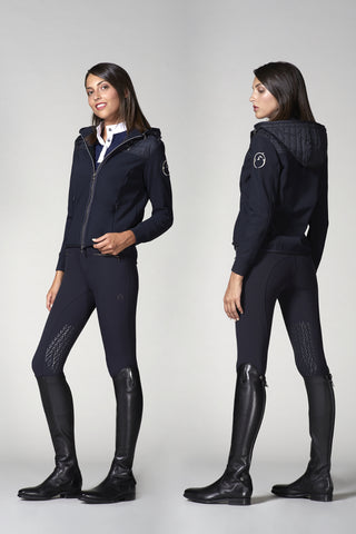 Ladies riding coats & winter riding jackets, riding gilets, riding hoodies, warm up jackets